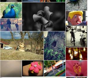 如何实现一个不规则排列的图片布局算法